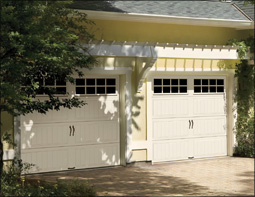 Clopay Gallery Garage Door with Square Grilles