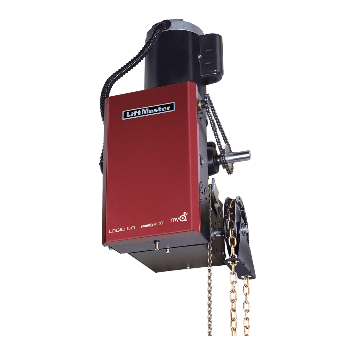 Heavy Duty Gear Reduced Hoist Door Operator